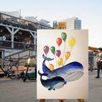 Art Adventure Badeschiff Wal