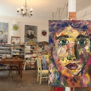 Art Adventure Portrait im Atelier Adselini
