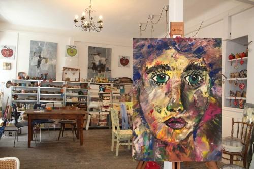 Art Adventure Portrait im Atelier Adselini