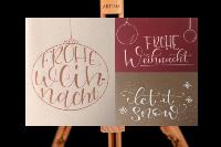 Art Adventure Handlettering Weihnachten